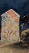 Notte a San Basilio - cm16x22