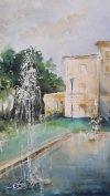 Villa Torlonia - acquerello - cm 28x43